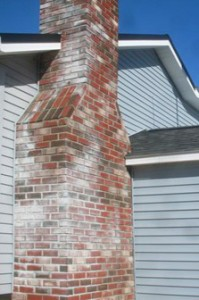 What Is The White Staining On My Chimney