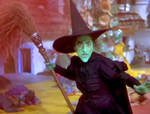 I M Meeeeelting The Wicked Witch And Your Chimney