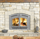 Zero- Clearance Gas Fireplace