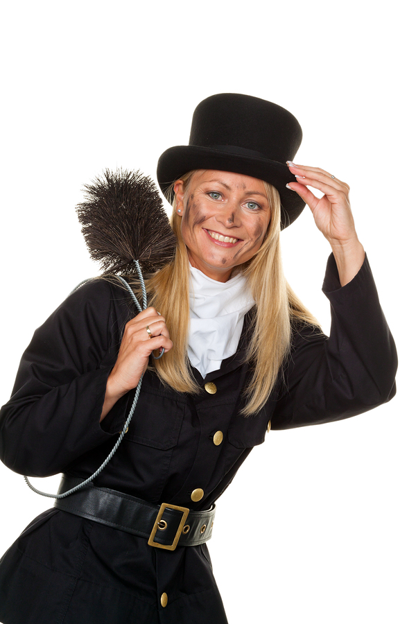 female chimney sweep