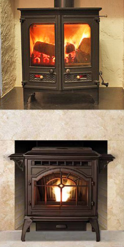 Learn the differences between two extremely popular stove choices - wood burning stoves & pellet stoves. Each heating stove has its pros & cons so it