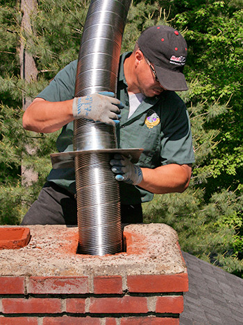 chimney repair in newington ct installing new liner