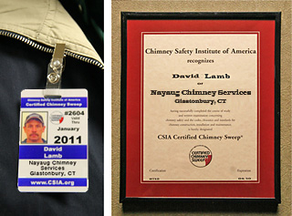 certified chimney sweep csia techs only