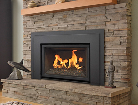 Find the best selection of fireplace inserts including wood inserts