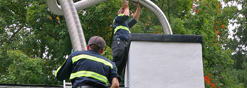 install stainless steel chimney liner for wood burning fireplace insert in tolland ct